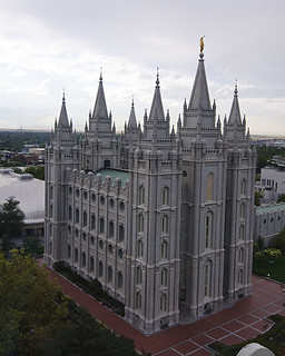 Mormon Temple in Daylight | by BFS Man