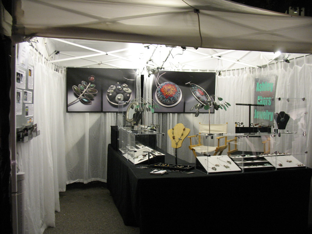 My booth at Bayou City in Houston