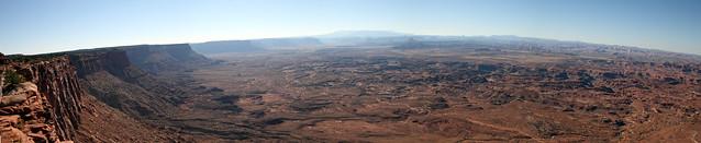 Needles Overlook Panorama - Canyonlands National Park, Utah