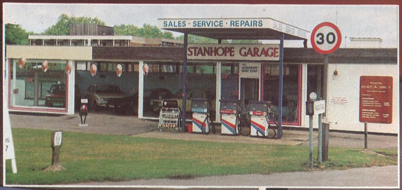 Former Stanhope Garage Aldershot Early 1980s Enlarged