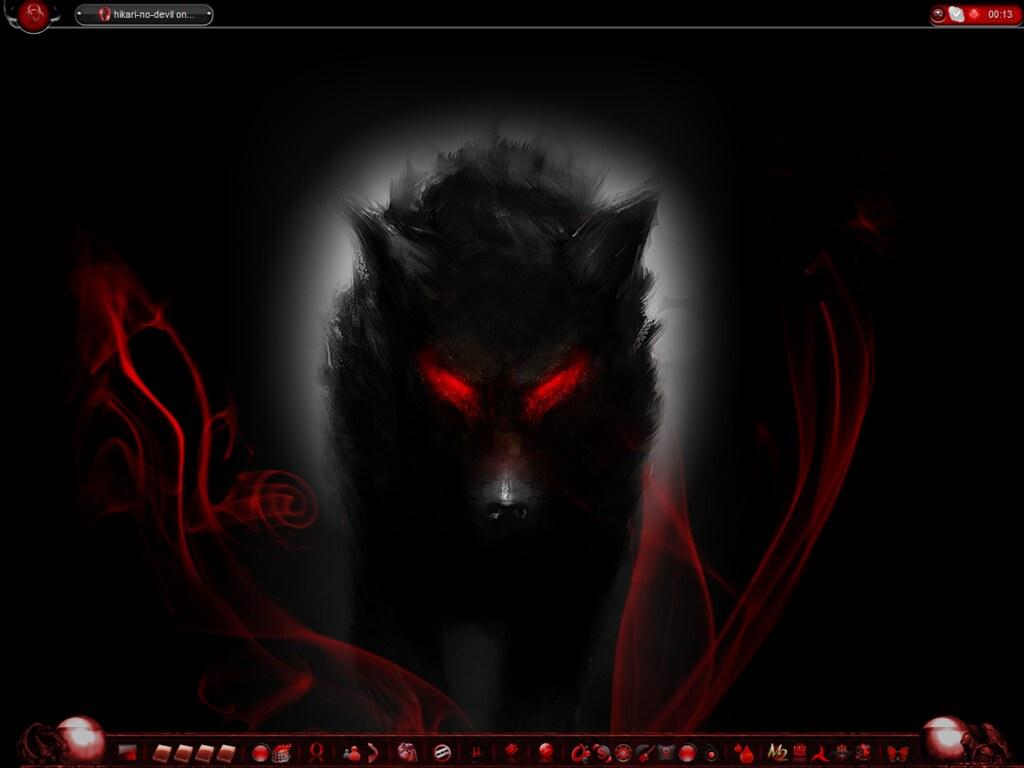 Black Evil Wolf   Richard   Flickr