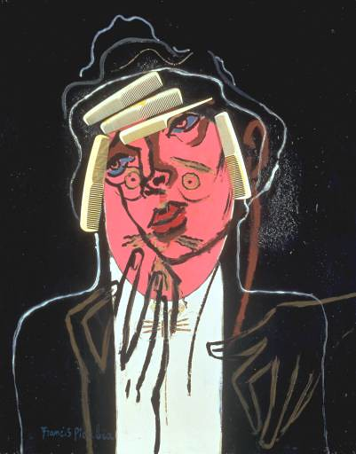 Picabia, Francis (1879-1953) - 1924-35. The Handsome Pork Butcher (Tate Gallery, London)