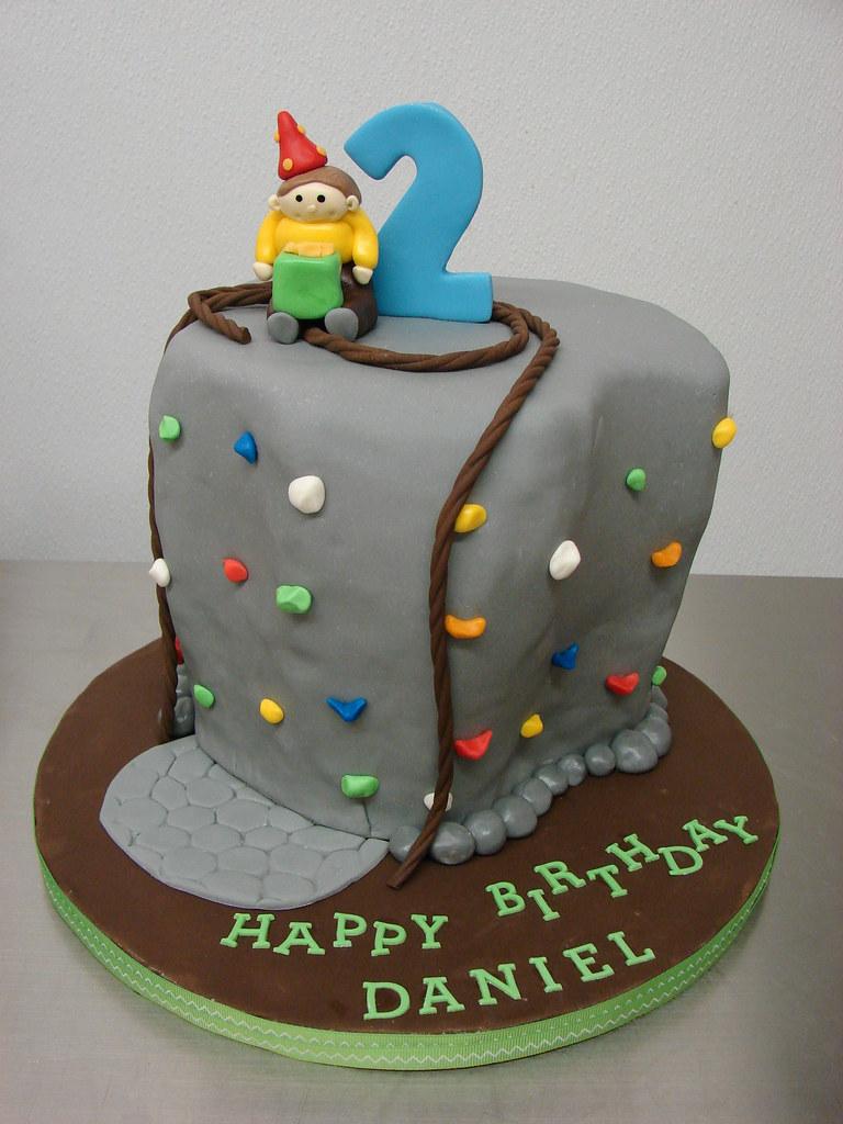 Daniel's Rock Climbing Birthday Cake