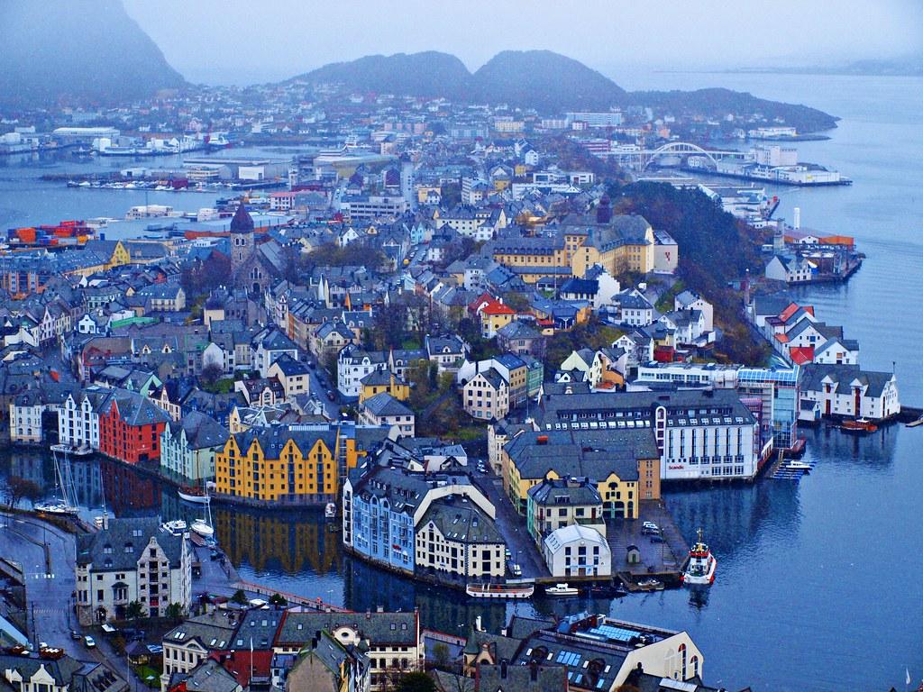países con noches blancas Noruega