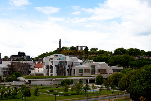 Scottish Parliament and Calton Hill, 2010 | by Eddie Truman