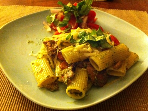 Sausage and Peppers with Rigatoni | by phy5ics