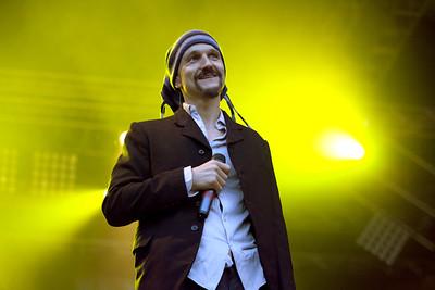 James @ Bingley Music Live 2010