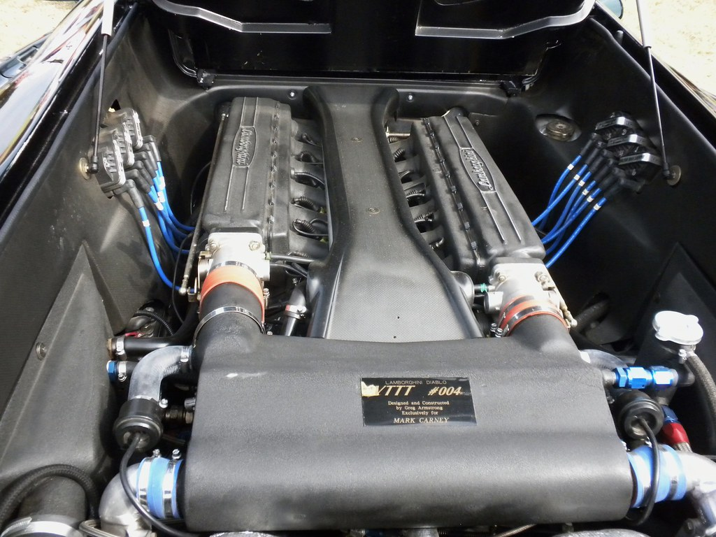 Lamborghini Diablo Vttt Engine Kmp Flickr