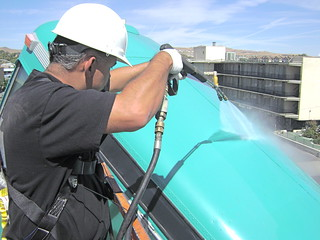 Pressure washing in Reno   by jwmadmax