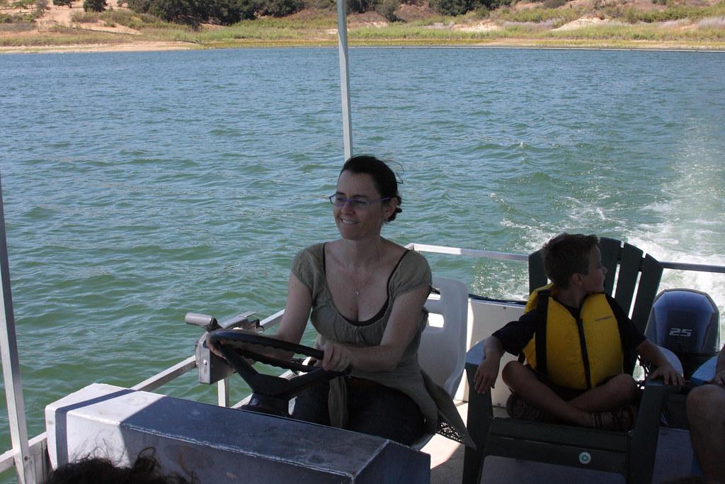 Lake Casitas Camping Trip | Frauke in charge of driving  Lak