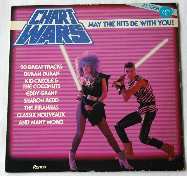CHART WARS, may the hits be with you
