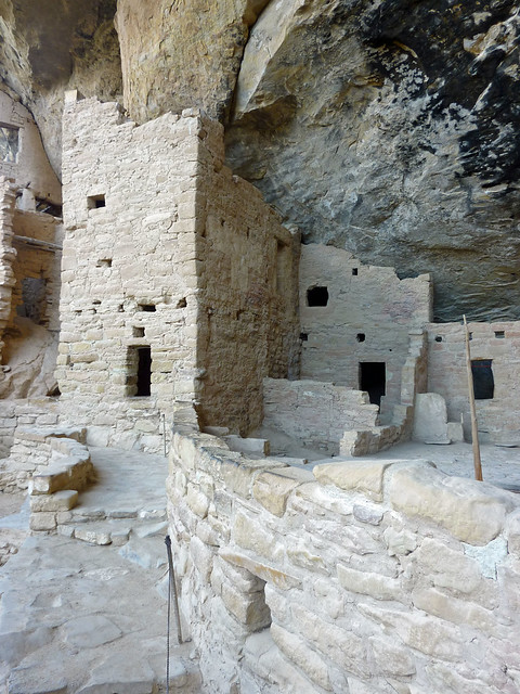 Anasazi ruins at Spruce House, Mesa Verde National Park
