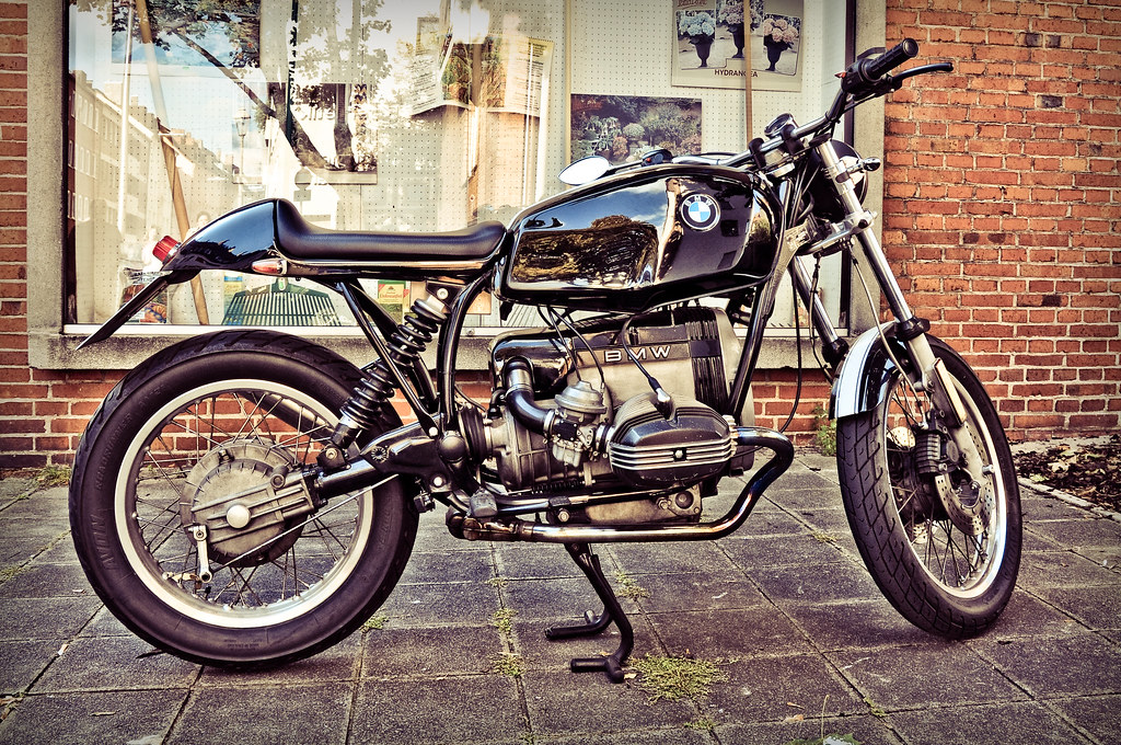 An old-school BMW bike | love it :-D | albertizeme | Flickr