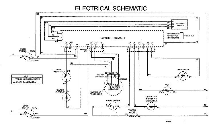 Phenomenal Dishwasher Schematics Wiring Diagram Tutorial Wiring 101 Photwellnesstrialsorg