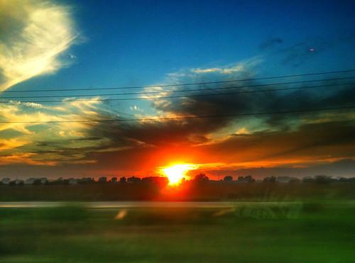 iphone prohdr sunset texas su