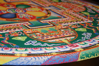 Tibetan Sand Mandala Creation. | by San José Public Library