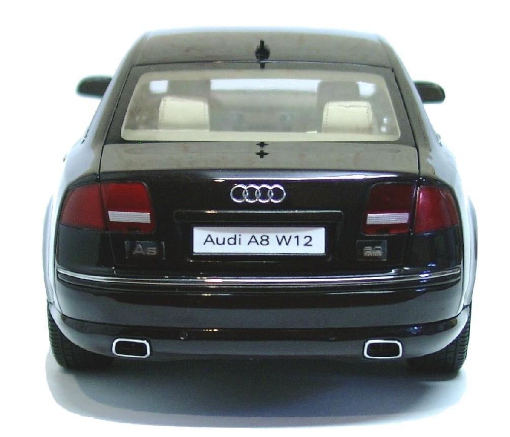 Audi A8 W12, Kyosho, 1/18