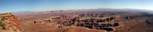 Grand View Panorama - Canyonlands National Park, Utah