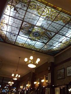 Teto do Café Tortoni | by Lu Monte