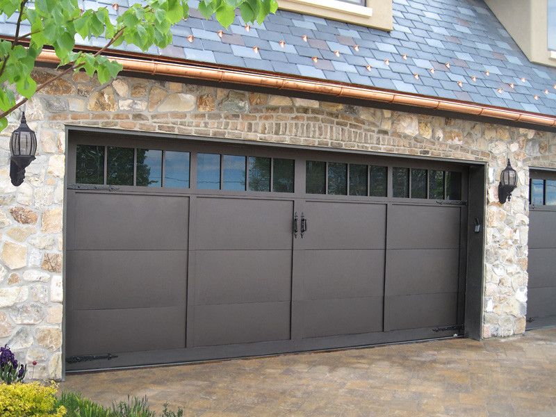 ... Carywaynepeterson Garage Doors Carriage House Desert Bronze Finish | By  Carywaynepeterson