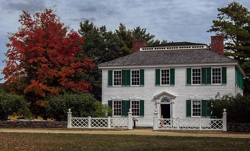 autumn house fall massachusetts sturbridge oldsturbridgevillage towne