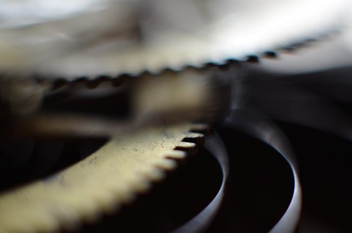Gears, spring, light | by deaneckles
