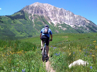 Mountain Biking Deer Creek Trail, Crested Butte, CO | by TRAILSOURCE.COM