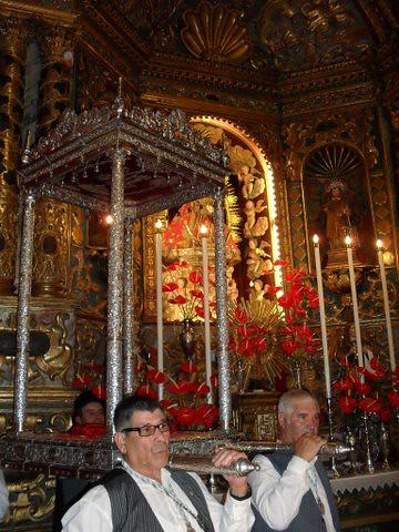 En el Santuario de Nuestra Señora de Las Nieves
