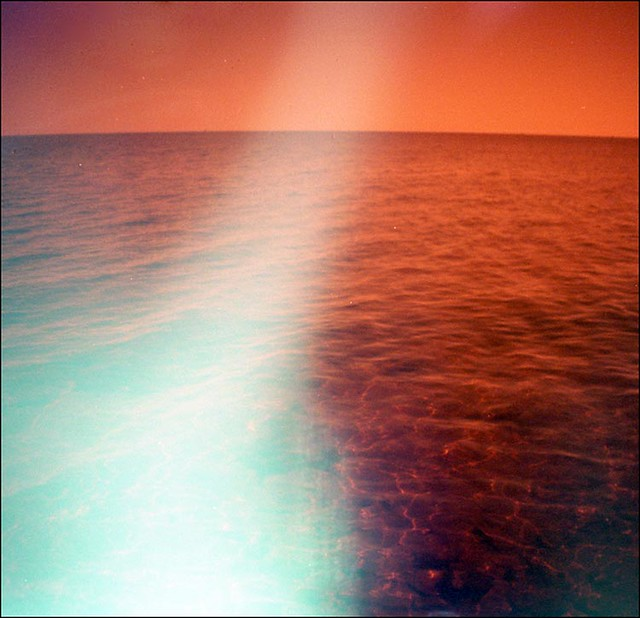 orange sea light leak