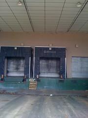 Dillard's/Gayfer's loading dock.