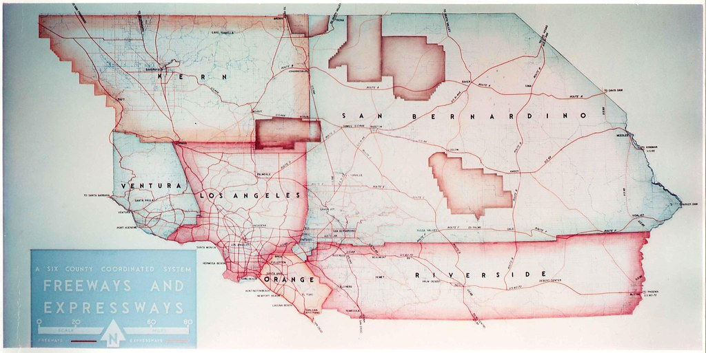 A Six-County Coordinated System: Freeways and Expressways (1958)