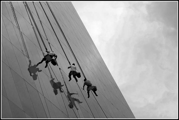 Limpiadores de altura