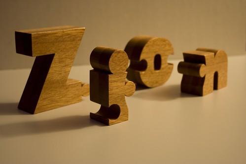 Zion (letters)   by nuzzlesbyjohn
