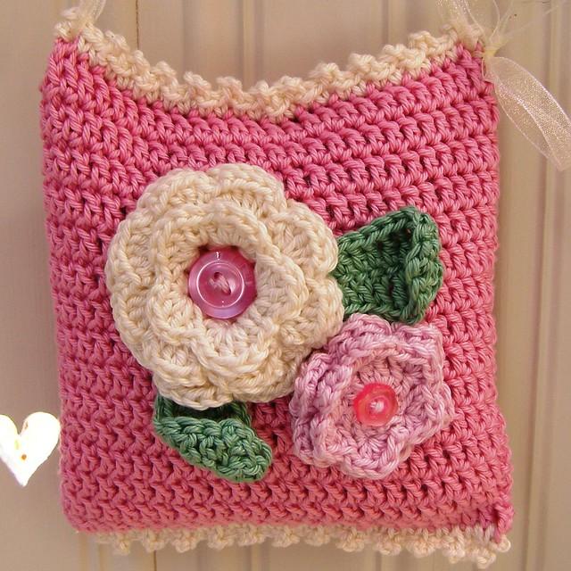 Crochet Lavender Bag