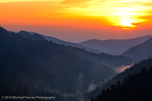 sunset usa nature landscape tn tennessee gatlinburg nationalparks greatsmokymountainnationalpark us441 michaelpancierphotography michaelapancier mortonsoverlook americasnationalparks