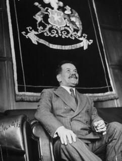 Don Pedro Aguirre Cerda presidente de Chile  1938-1941