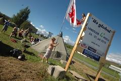 Opprigging av 4H Landsleir på Moelv