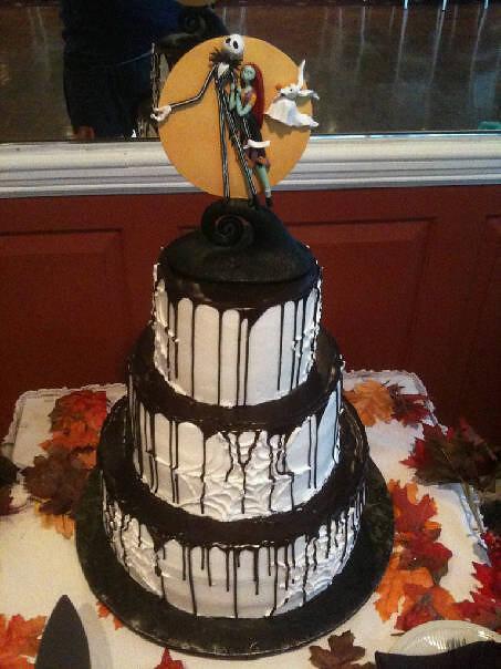 Nightmare Before Christmas Wedding.A Nightmare Before Christmas Wedding Cake Conti S Pastry