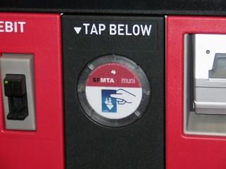 Muni Clipper Ticketing Machine - Civic Center Secondary Gates