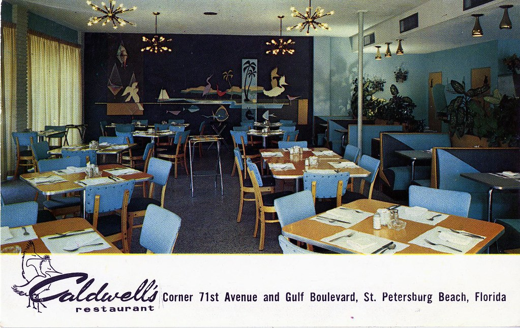 Caldwell S Restaurant St Petersburg Beach Fl 7081 Gulf Bou