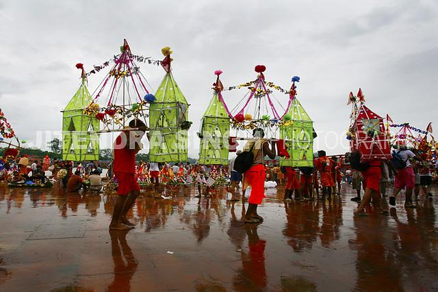 Kanvar Yatra ( Hindu Festival), Hardwar, Uttrakhand, India
