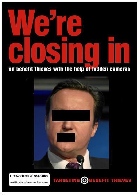 Targeting benefit thieves