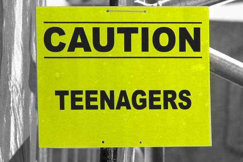Caution: Teenagers | by CGP Grey