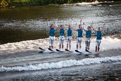 U.S. Water Ski Show Team - Scotia, NY - 10, Aug - 07 by sebastien.barre
