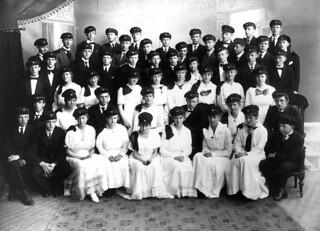 Trondhjems Katedralskole - Avgangskullet 1917