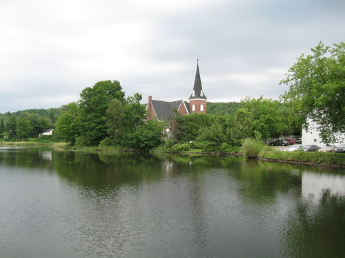 canada church pond québec brook knowlton millpond easterntownships coldbrook lacbrome bromemissisquoi knowltonunitedchurch