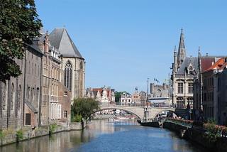 Leie en Sint-Michielsbrug