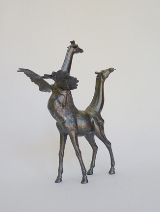 "Misako Inaoka ""Double Headed Giraffe"""