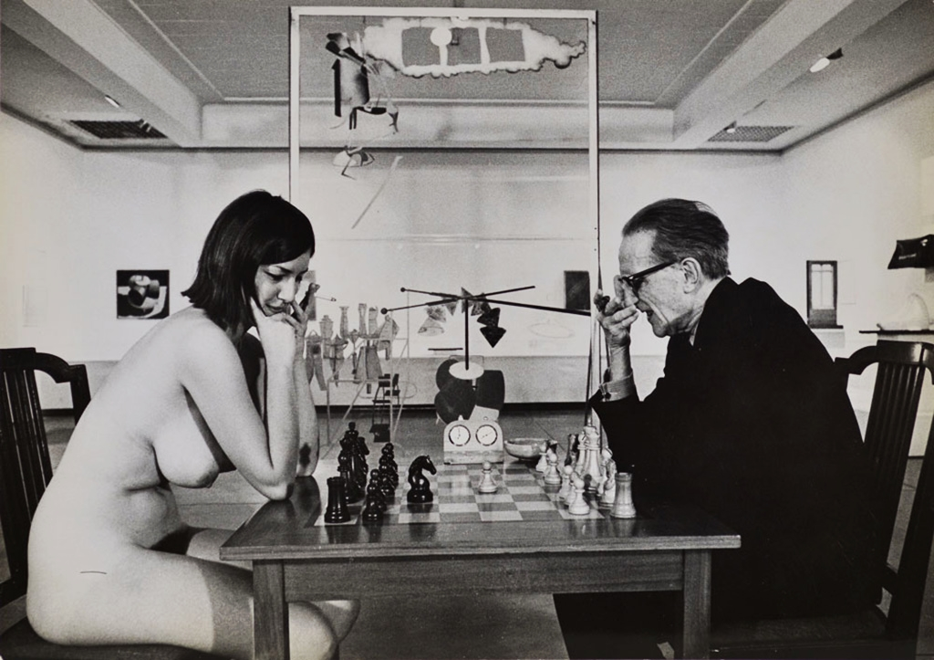 Eve Babitz on Being Photographed Nude with Marcel Duchamp