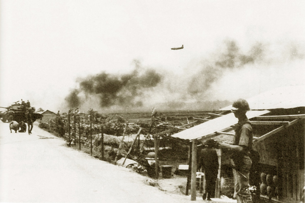 Airstrike by A-1 Skyraider, battle of Kon Tum | manhhai | Flickr